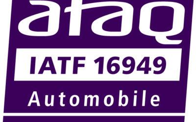 Obtention Certification IATF 16949